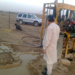 Boring of Tube Well Started at Mehdia City on 22 Mar 2012