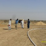 Survey and Marking of Main Road and plot for Masjid