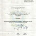 HB&D SBCA License1